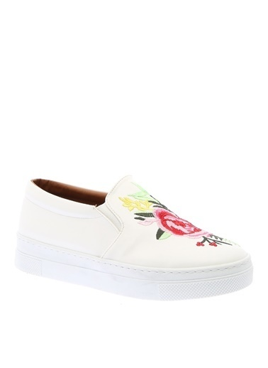 Asymmetry Ayakkabı Beyaz